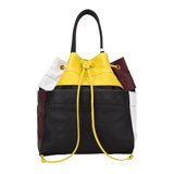 Colour Block Duffle Bag