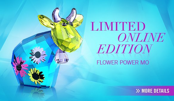 Limited Online Edition 2013 Flower Power MO
