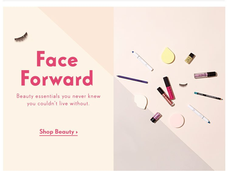 Face Forward: Beauty essentials you never knew you couldn't live without