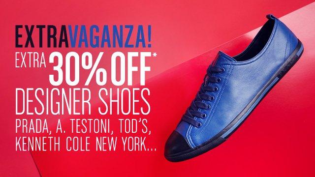 Designer Shoe Extravaganza