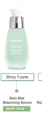 Shiny T-zone Skin Mat Balancing Serum SHOP NOW»
