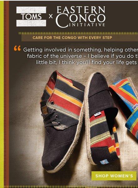 TOMS x Eastern Congo Initiative - Shop Women's