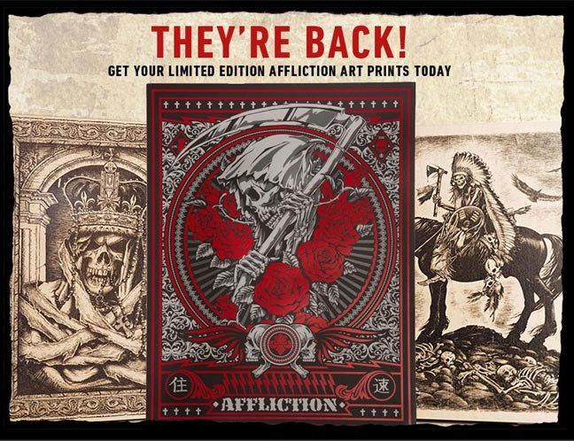 Check Out the Latest Affliction Accessories!