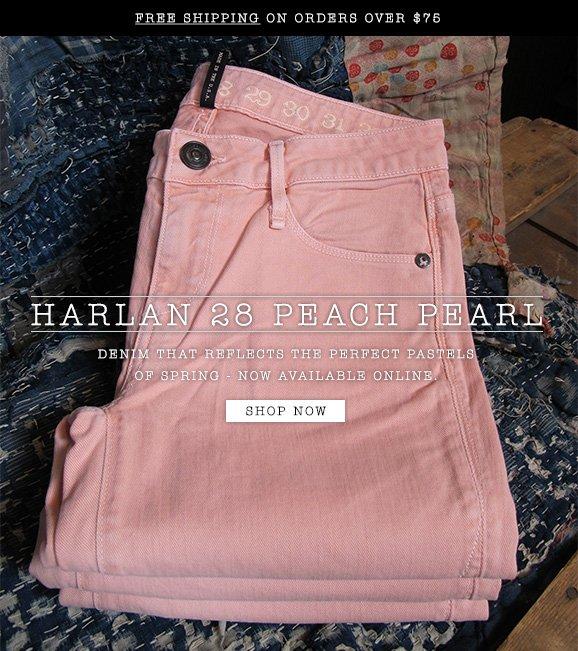 The Harlan Peach Pearl - Shop Now