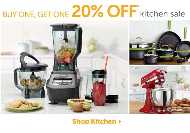 Buy One, Get One 20% OFF* kitchen sale - Shop Kitchen
