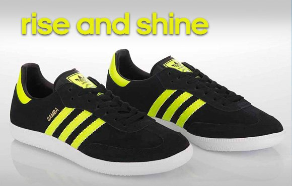 Shop Neon Samba Shoes »