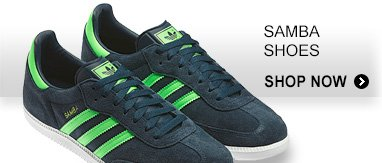 Shop Men's Samba Shoes »