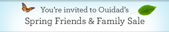 You're invited to Ouidad's  Spring Friends and Family Sale