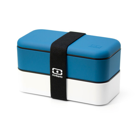 Bento Box // Blue + White
