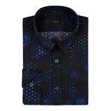 Navy Glitterball Print Shirt