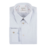 Pale Grey Cotton Shirt