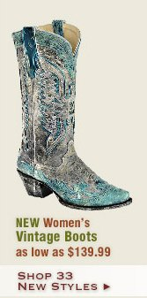New Womens Vintage Boots