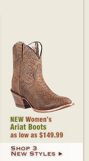New Womens Ariat Boots