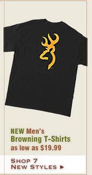 New Mens Browning Shirts