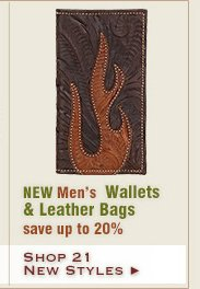 New Mens Wallets and Leather Bags