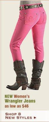New Womens Wrangler Jeans