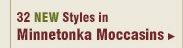New Womens Minnetonka Moccasins