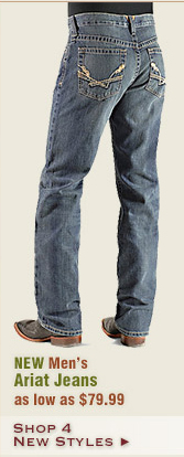 New Mens Ariat Jeans