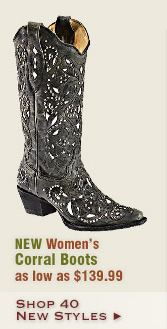 New Womens Corral Boots