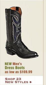 New Mens Dress Boots