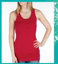 Shop BKE Extra Long Tank Top
