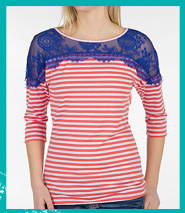 Shop BKE Striped Top