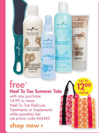 free* Heel to Toe Summer Tote