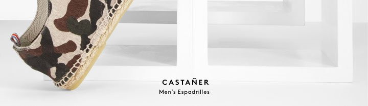 Espadrille season has arrived! Shop shoes from Castañer and more.