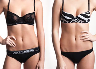 Dolce & Gabbana, Ferre: Underwear for Her