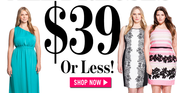 $39 Or Less! Shop Now