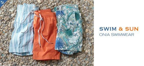 SWIM & SUN: ONIA SWIMWEAR, Event Ends May 18, 9:00 AM PT >