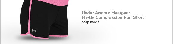 Women's Under Armour HeatGear Fly-By Compression Run Short