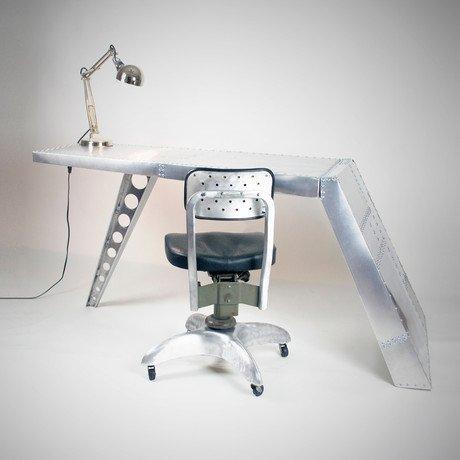 Airfoil Desk // Aluminum