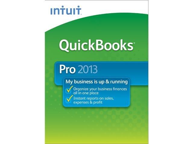 Intuit QuickBooks Pro 2013