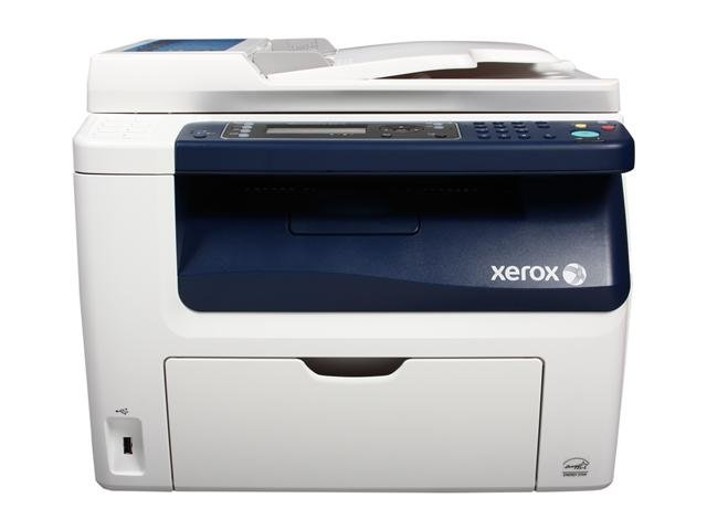 XEROX WorkCentre 6015/NI MFC / All-In-One Up to 15 ppm 1200 x 2400 dpi Color Print Quality Color Wireless Laser Printer