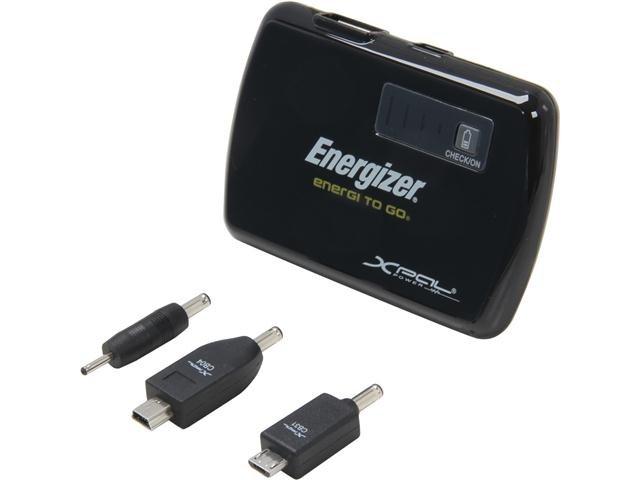 Energizer Black Universal Rechargeable Power Pack (XP2000K)