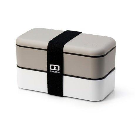 Bento Box // Grey + White