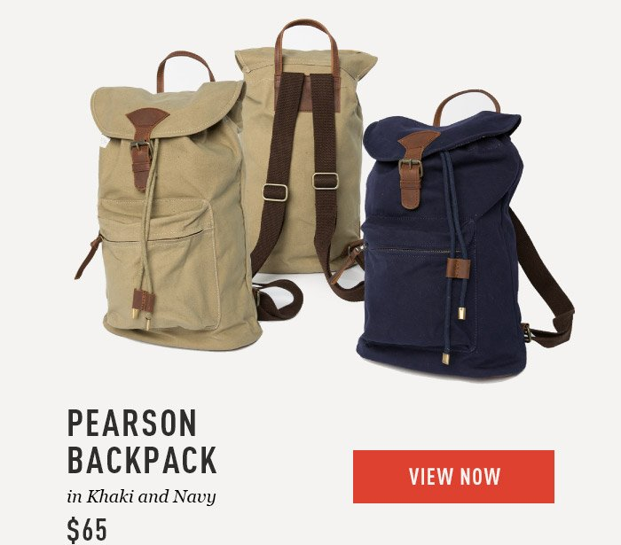 Pearson Backpack $65