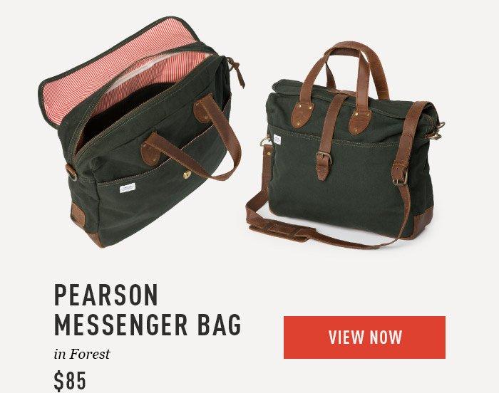 Pearson Messenger Bag $85
