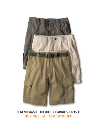 Legend Wash Expedition Cargo Shorts