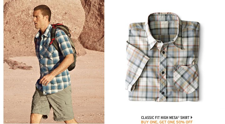 Classic Fit High Mesa Shirt