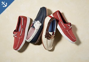 Swim & Sun: Classic Boat Shoes