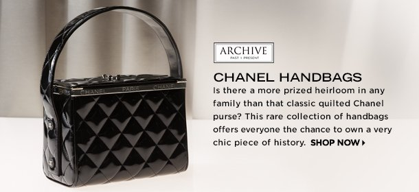 ARCHIVE: CHANEL HANDBAGS, Event Ends May 20, 9:00 AM PT >