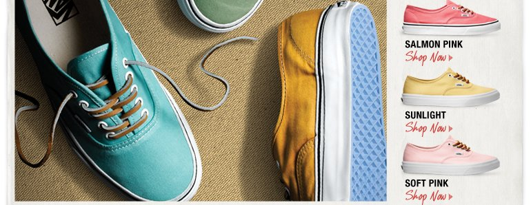 VANS BRUSHED TWILL COLLECTION