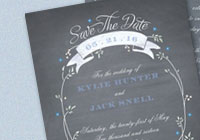 Rustic Bouquet Save-the-Date