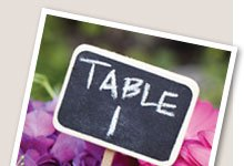 Chalkboard Table Picks
