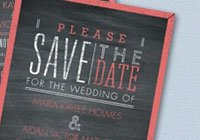Pretty Proclamation Save-the-Date