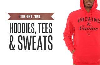 Comfort Zone: Hoodies, Tees, & Sweats