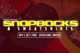 Snapbacks & Sweatshirts