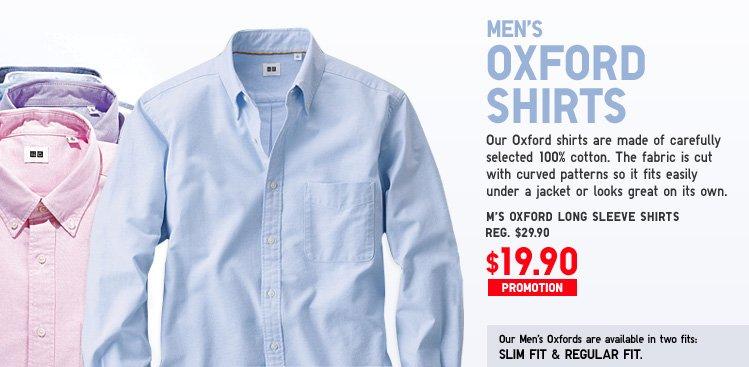 MEN'S OXFORD SHIRTS